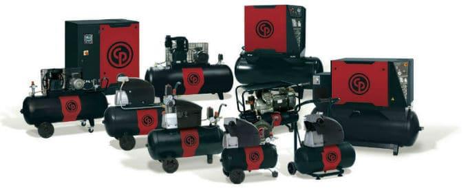 Air Compressor Chicago Pneumatic Product Range