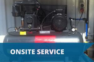 Air Compressor Onsite Service